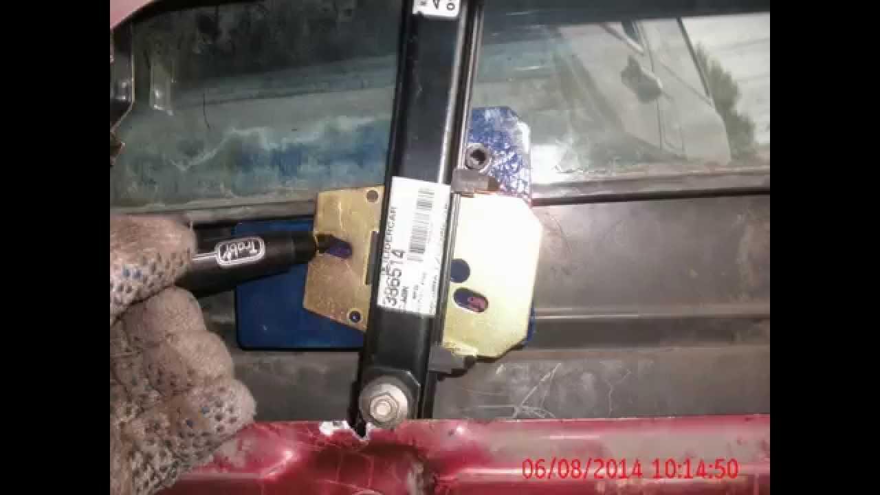 Circuito Levanta Vidrios Electricos : Adaptacion de levantavidrios electrico de duna a regatta youtube