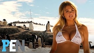 Kate Upton In Antarctica: Modeling With Penguins | PEN | Sports Illustrated Swimsuit