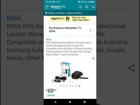 Boya DM2 Type C Lapel Mic Now Available Google Pixel 2 Pixel 3 Phones