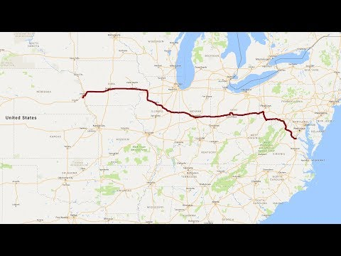 Virginia to Nebraska, A Complete Road Trip