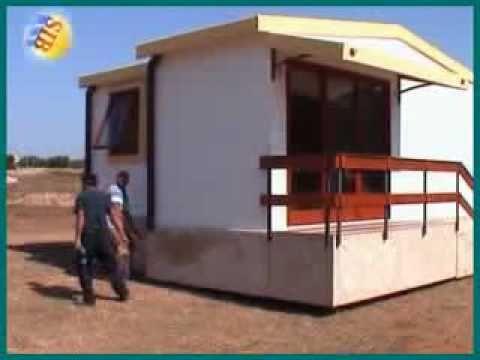 Casa prefabbricata mobileflv  YouTube