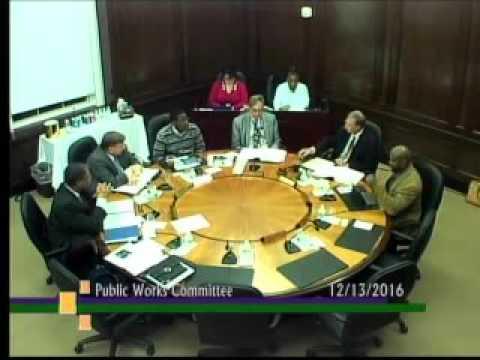 Public Works Committee December 2016
