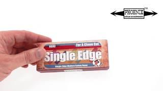 Starling Single Edge Safety Razor Up Close Demo - Phoenix Shaving