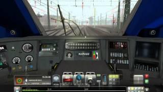 Mise en route du tgv duplex sur Train simulator 2013
