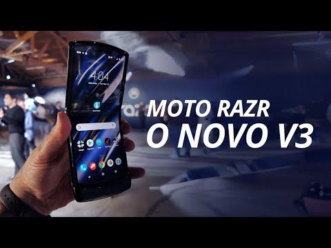 Motorola RAZR: o V3 voltou ainda mais FANTÁSTICO, olha essa tela!