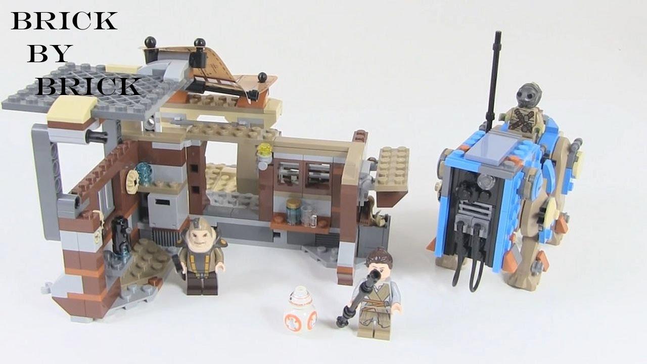 Lego Star Wars Force Awakens Minifigure Teedo with Staff 75148!