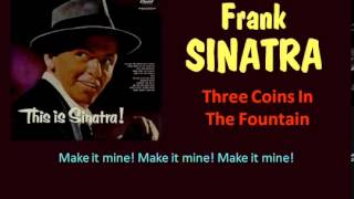 Three Coins In The Fountain Frank Sinatra   Lyrics