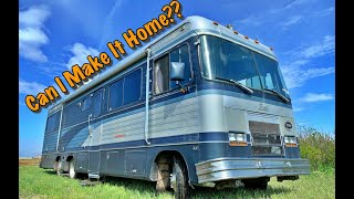 Abandoned $154,000 Luxury Barth Motor Home Pt.2 (Will it make it home this time???)