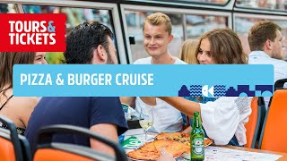 Pizza Burger Cruise through Amsterdam | Tours & Tickets