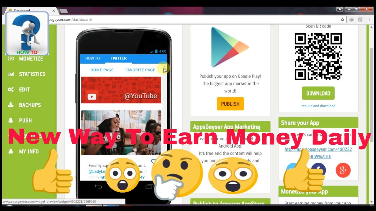 how to create an app without coding skills Android, iPhone