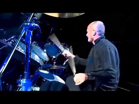 Phil Collins Drum Solo @  Bercy HD
