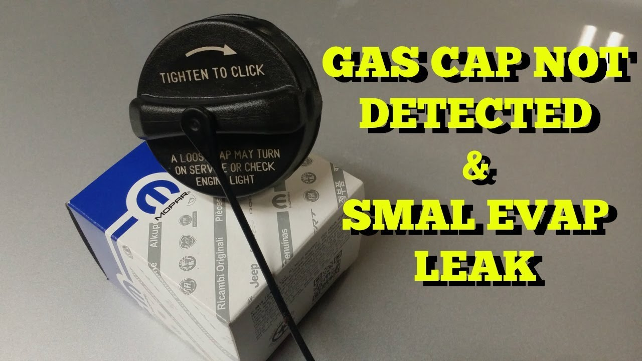 Gas Cap Check Engine Light And Small Evap Leak Fix Youtube Fuel Canister 2003 Dodge Caravan