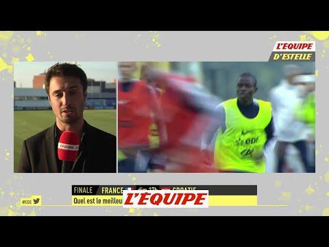 Nigay «Kanté n'est plus un homme de l'ombre»  Foot  CM 2018  Bleus
