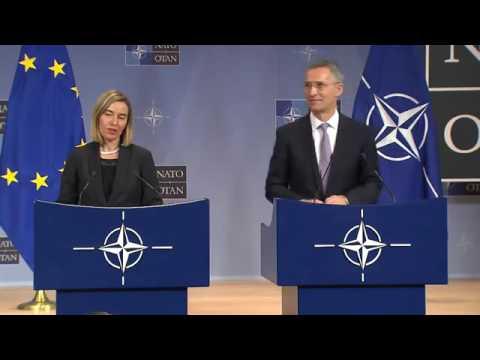 NATO Secretary General with EU High Representative for Foreign Affairs, 06 DEC 2016, Part 2 2