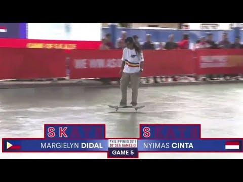 MARGIELYN DIDAL / WOMEN'S SKATEBOARDING SEMI/FINAL WIN / SEA GAMES 2019  PHILIPPINES🇵🇭