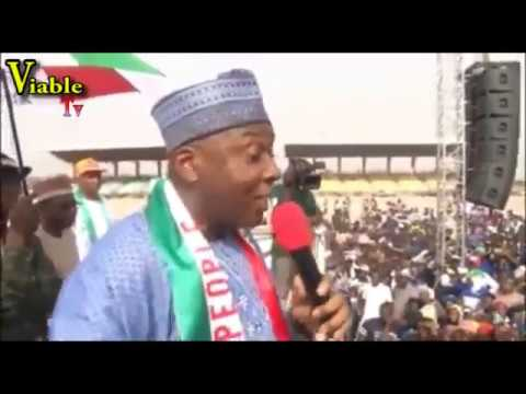 Happening Now in Kwara : Osinbajo, Saraki Make Last-Minute Pitch For Votes Ahead Of Elections