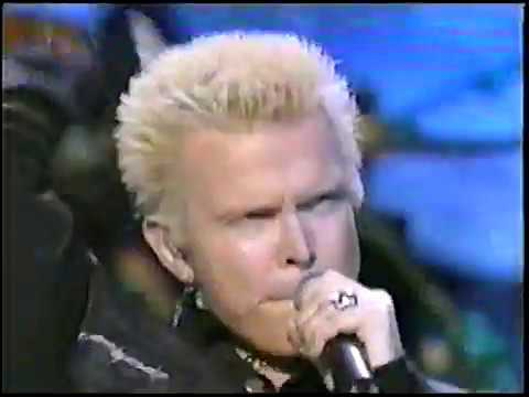 Billy Idol - Rebel Yell (Live At MTV 20th anniversary)