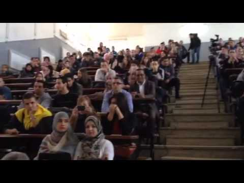 The student and faculty of Algiers University Department of
