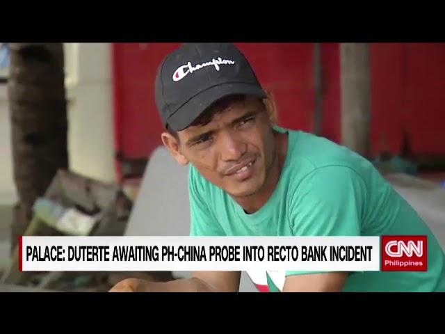 Palace: Duterte awaiting PH China probe into Recto Bank incident