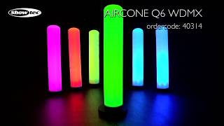 Showtec Aircone Q6 WDMX. Ordercode: 40314.