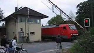 broken level crossing