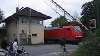broken level crossing