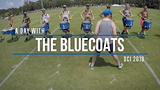 A DAY WITH TΗE BLUECOATS | DCI 2019