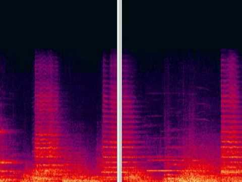 Iannis Xenakis Metastasis Spectral View