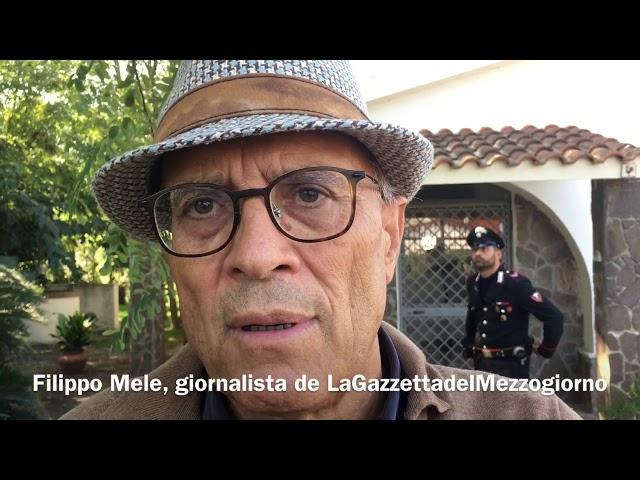 Scanzano Jonico, busta con pallottola al giornalista Filippo Mele