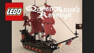 Lego Queen Anne's Revenge MOC-(POTC)