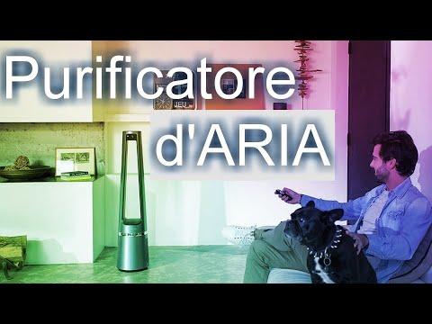 Purificatore d'Aria / Filtro Aria a Carboni Attivi, Antivirus per Casa e Ufficio / Antivirus