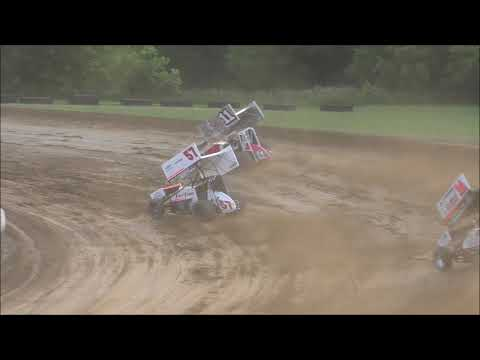 All Star Sprint Car Dash #1 from Muskingum County Speedway, June 16th, 2019.