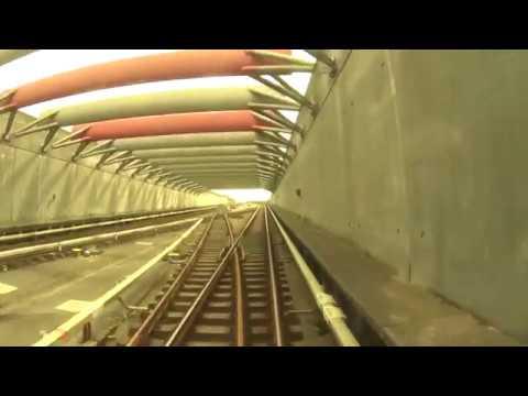 """Cabview"" Copenhagen Metro Line M1 / Danish metro"