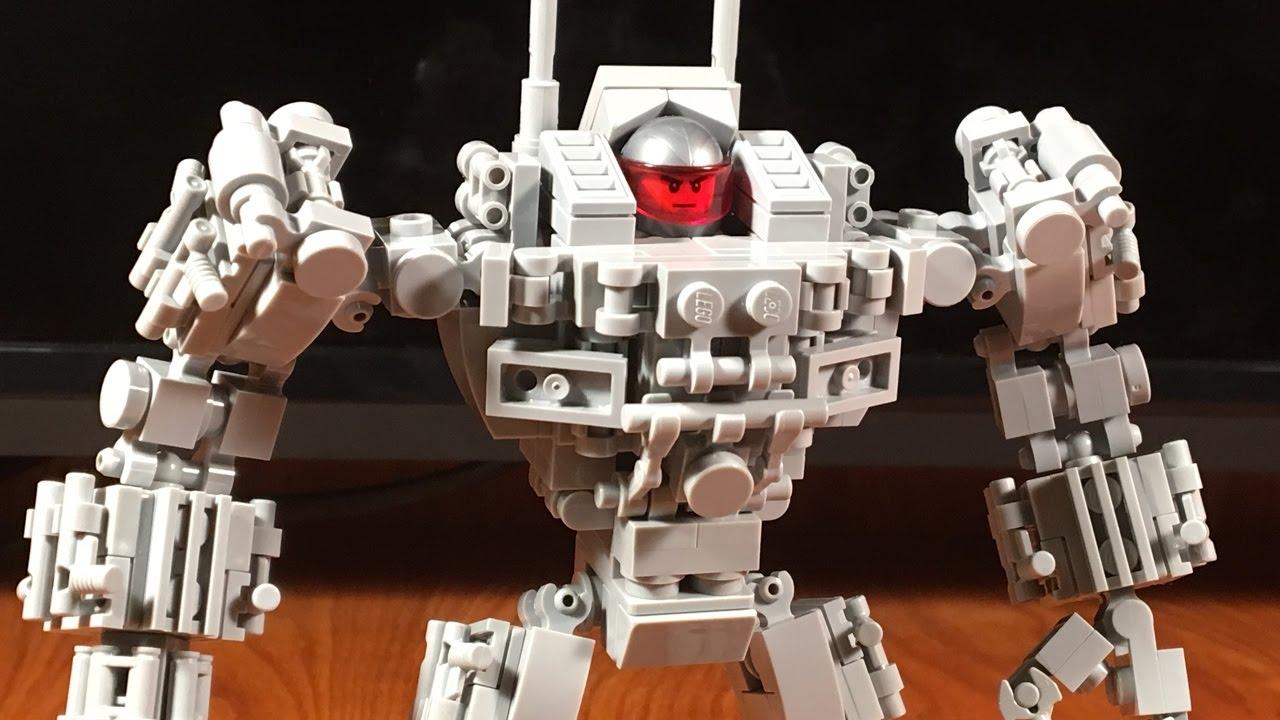 Lego Mech Suit - Goliath - YouTube