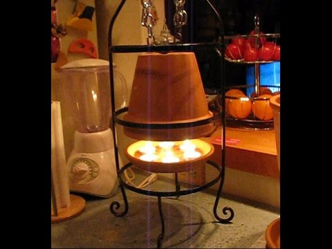 Terracotta Candle Heater Youtube