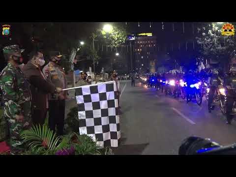 Patroli Skala Besar TNI - Polri PAM Malam Tahun Baru 2021