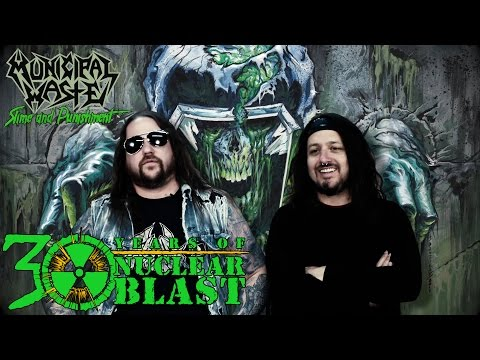 MUNICIPAL WASTE - Album Title: Slime and Punishment (OFFICIAL INTERVIEW)