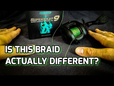 SuperKast9 - KastKing Braid Review: How Does It Compare To OTHER Brands? (2018)