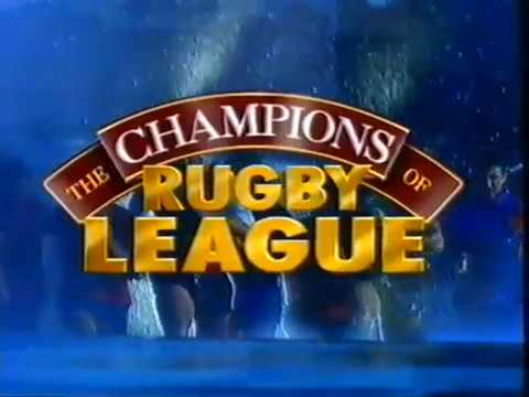 'Champions of Rugby League' - 1993 NRL video