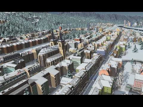 Liechtenstein Switzerland Germany Alps- Cities: Skylines