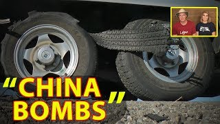 "💥""CHINA BOMBS""💥 Why we switched from ST (Special Trailer) tires to LT (Light Truck) tires"
