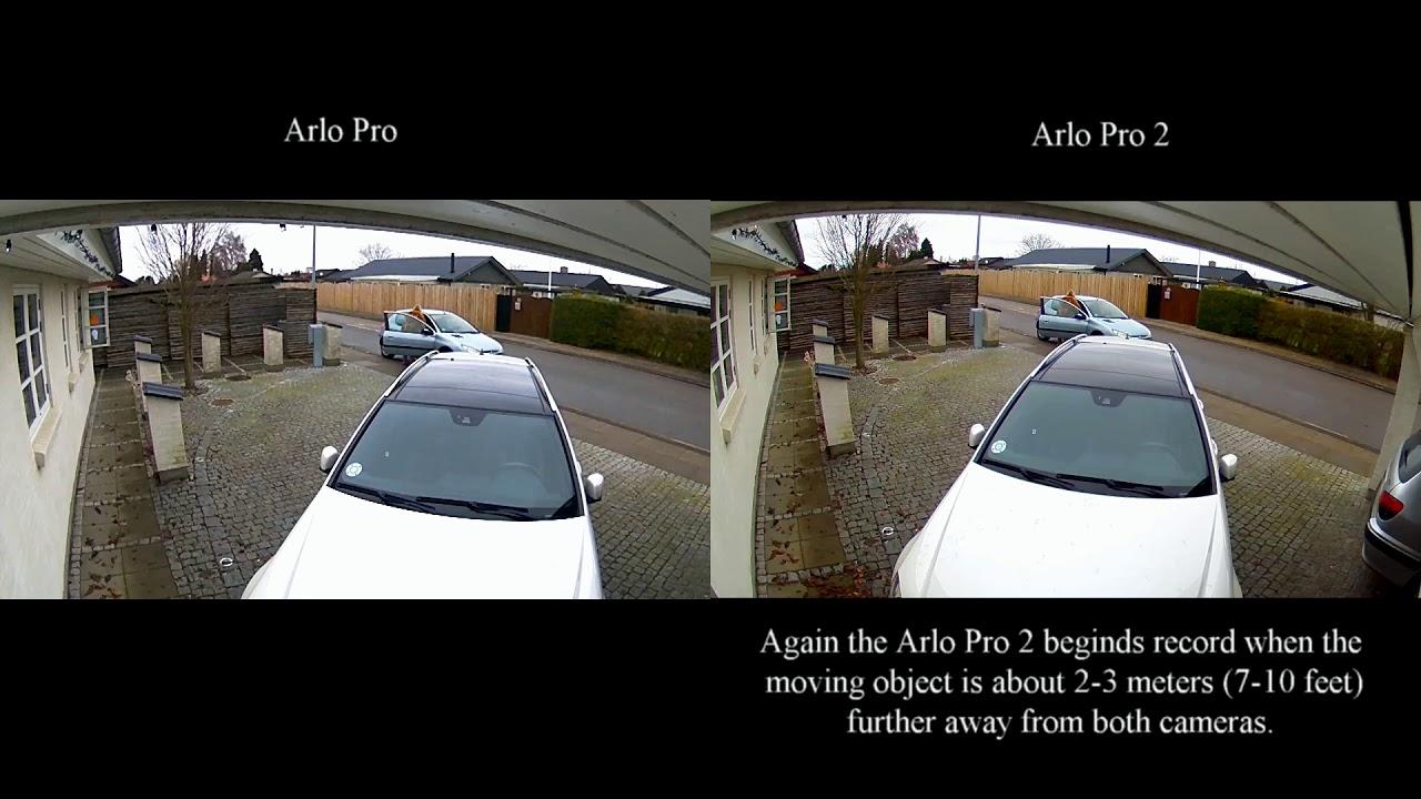 Arlo Pro Vs Arlo Pro 2 Quick Video Comparison Youtube
