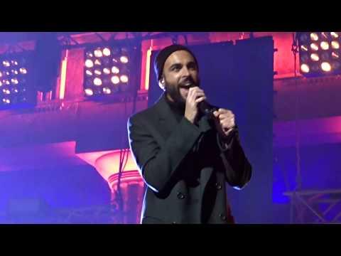 Marco Mengoni - Come Neve live @ capodanno Bari HD