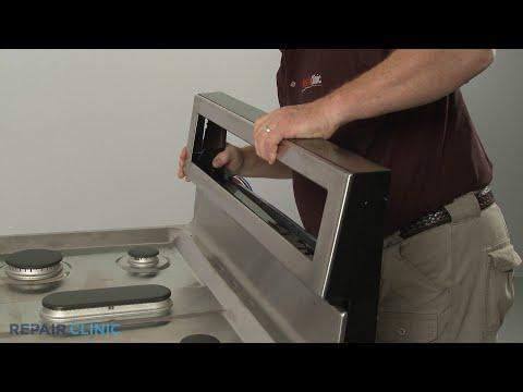 Control Panel - Kitchenaid Double Oven Gas Range (Model #KFGD500ESS04)