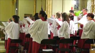St. Malachy's - The Actors' Chapel Choir - Introit