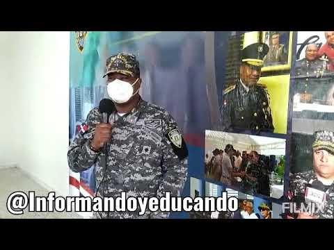 Coronel de Nagua: Personas apresadas en toque de queda estarán presos hasta pagar multa de 2 mil pesos.