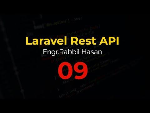 Laravel API Tutorial Bangla | Part 09 Laravel Lumen API Controller thumbnail