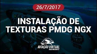 INSTALAÇÃO DE TEXTURAS NO PMDG 737 NGX