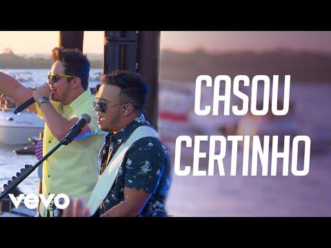 Matheus & Kauan - Casou Certinho - Na Praia  Ao Vivo