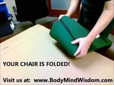 Folding Your Folding Back Jack Chair Youtube